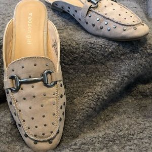 Studded mules
